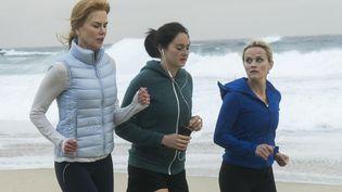 """Nicole Kidman, Shailene Woodley et Reese Witherspoon dans la série """"Big Little Lies"""" diffusée sur HBO et en France, sur OCS. (HBO)"""