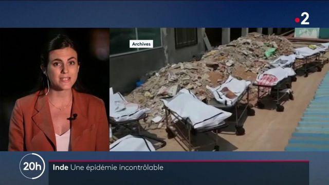 Covid-19 : une situation catastrophique à New Dehli