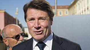 Le député-maire de Nice, Christian Estrosi, le 8 novembre 2014, à Nice. (ERICK GARIN / CITIZENSIDE / AFP)