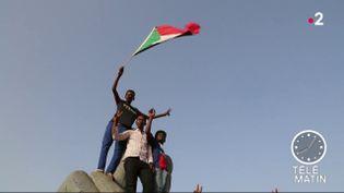 Des manifestants au Soudan. (France 2)