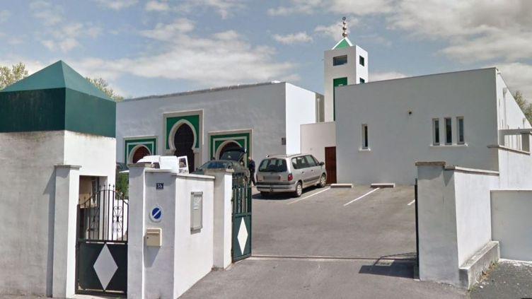 Des coups de feu ontretentidevant la mosquée de Bayonne (Pyrénées-Atlantiques), le 28octobre 2019. (GOOGLE STREET VIEW)