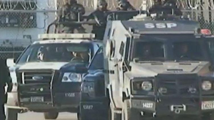 Près de la prison de Ciudad Juarez, le lundi 5 mars 2012. (REUTERS)