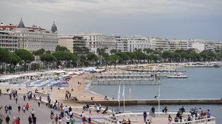 La Croisette, à Cannes (Alpes-Maritimes), le 15 septembre 2017. (YANN COATSALIOU / AFP)