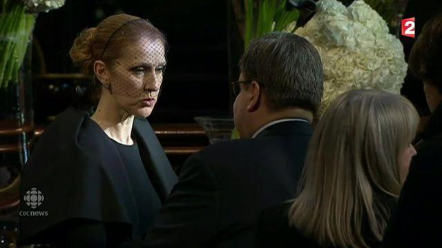 Mort de René Angélil : Céline Dion a reçu ses fans à la basilique de Montréal