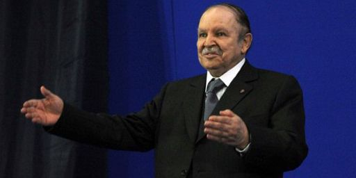 Le président algérien, Abdelaziz Bouteflika, le 8 mai 2012 (AFP - FAROUK BATICHE )