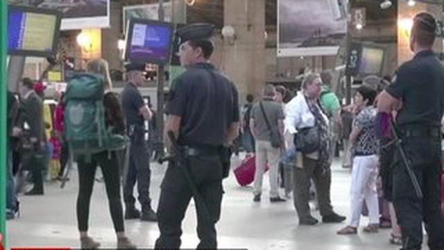 Attaque dans un Thalys : la sécurité dans les gares remise en question