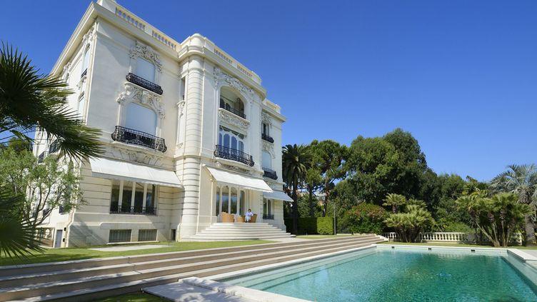 """""""La Californie"""", la somptueuse villa cannoise où vécut Pablo Picasso.  (Rieger Bertrand / HEMIS.FR / AFP)"""