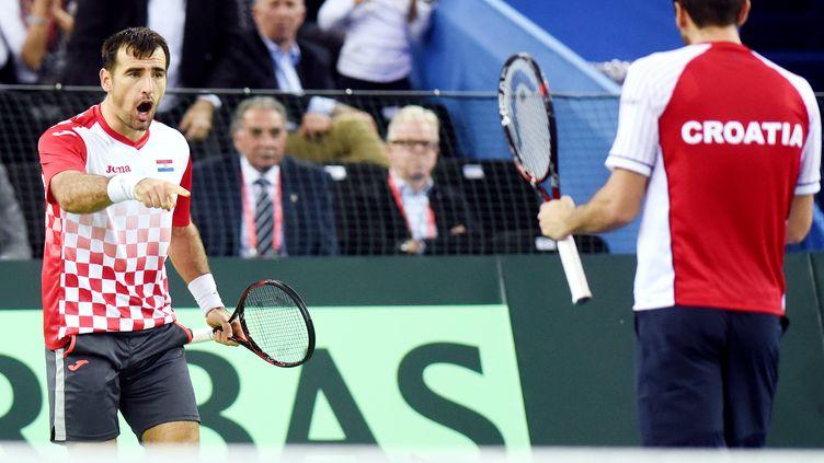 Ivan Dodig et Marin Cilic (- / AFP)