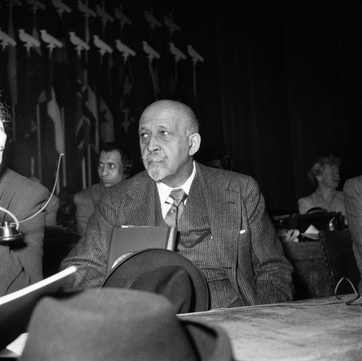 William Edward Burghardt (W. E. B.) Du Bois en 1950. Il fut l'un des pères du premier Congrès panafricain. (AFP)