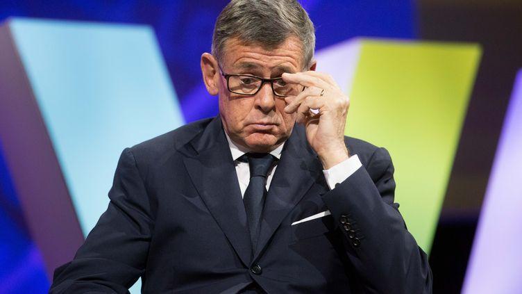 Georges Plassat, alors PDG de Carrefour, en juin 2016. (CHRISTOPHE MORIN / MAXPPP)