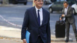 Le Premier ministre Jean Castex qui arrive au séminaire gouvernemental, le 11 juillet 2020. (THOMAS SAMSON / AFP)