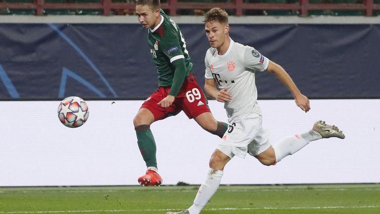 Auteur du deuxième but d'un Bayern malmené, Kimmich a libéré les siens (MAXIM SHIPENKOV / POOL)