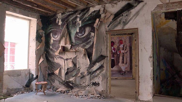 L'Urb'expo invite douze street artistes dans une bâtisse abandonnée d'Angers (France 3 Nouvelle Aquitaine)