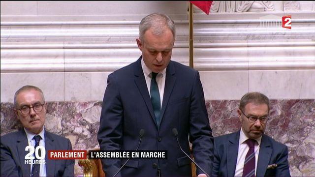 Parlement: l'Assemblée en marche