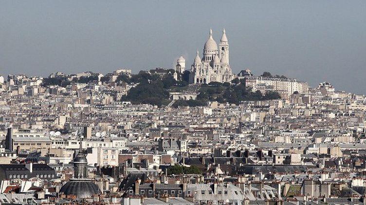 Le Paris haussmanien et la butte Montmartre au loin  (IP3 PRESS/MAXPPP)