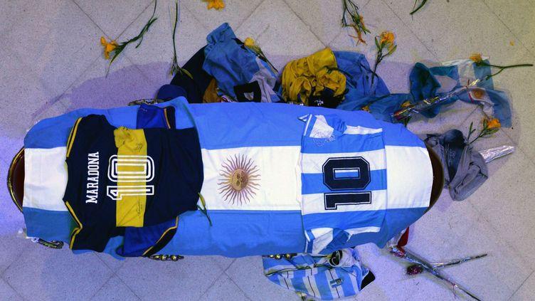 Diego Maradona va être enterré ce jeudi (HANDOUT / ARGENTINIAN PRESIDENCY)