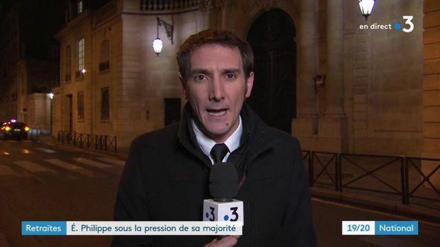 Réforme des retraites : Édouard Philippe sous la pression de la majorité présidentielle