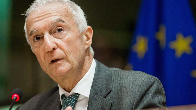 Gilles de Kerchove, le coordinateurde l'Union européennepour la lutte contre le terrorisme, à Bruxelles, en septembre 2016. (STEPHANIE LECOCQ / EPA)