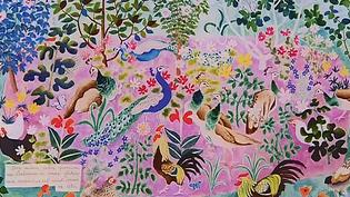 Le musée Dom Robert de Sorèze abrite une soixantaine de tapisseries du moine artiste ainsi qu'une quarantaine d'œuvres d'autres peintres cartonniers de tapisserie du 20e siècle.  (Culturebox / Capture d'écran)