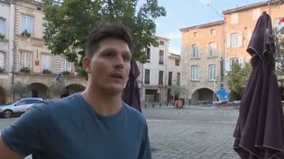 Bagnols-sur-Cèze (Gard) la ville la plus chaude de France vendredi 3 août (FRANCE 2)
