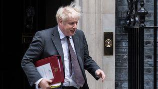 Le Premier ministre Boris Johnson, le 15 septembre 2021 à Londres (Royaume-Uni). (WIKTOR SZYMANOWICZ / NURPHOTO / AFP)