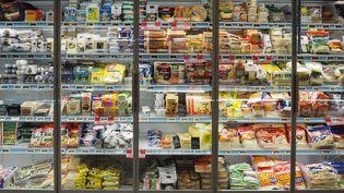 Un rayon de supermarché à Paris, le 2 mars 2019. (RICCARDO MILANI / HANS LUCAS / AFP)