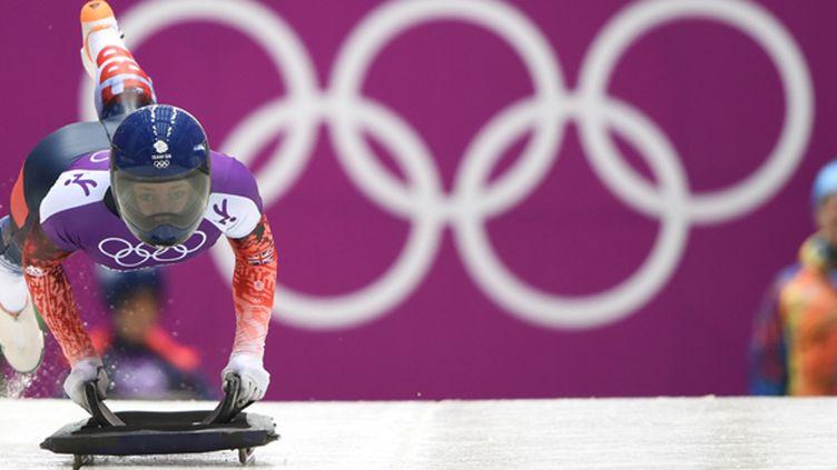 Elizabeth Yarnold (LEON NEAL / AFP)