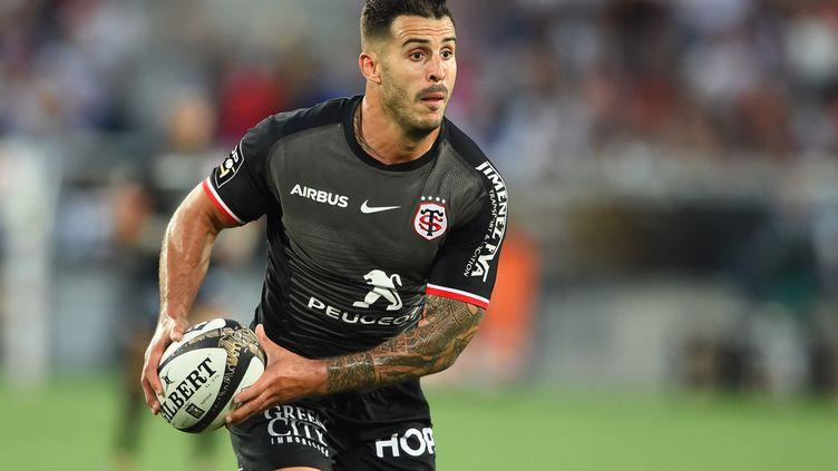 Sofiane Guitoune joueà Bordeaux, le 8 juin 2019. (NICOLAS TUCAT / AFP)
