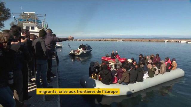 Grèce : l'île de Lesbos tente de chasser les migrants