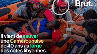 VIDEO. Quand un basketteur de la NBA participe à un sauvetage en pleine Méditerranée (BRUT)
