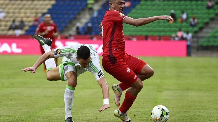 L'Algérie a souffert face à la Tunisie (KHALED DESOUKI / AFP)