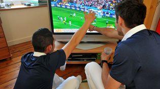 Pour le Mondial 2018, il devrait se vendre en France 5% de télés en plus par rapport à une année sans grande compétition de football (illustration) (MAXPPP)