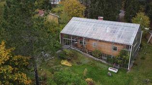 En Suède, des maisons sous cloche sortent de terre. (CAPTURE ECRAN FRANCE 2)
