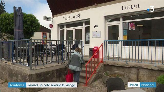 Isère : un café-épicerie réveille l'âme du village d'Oyeu