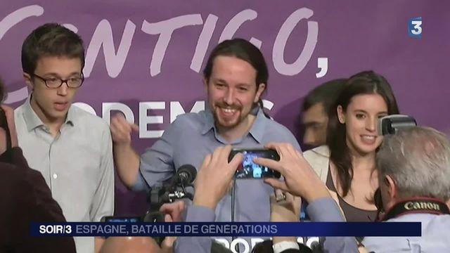 Législatives en Espagne : une nouvelle génération émerge