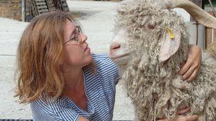La ferme de Brisannes, située à la Bazouge-de-Chémeré près de Meslay-du-Maine en Mayenne, dévoile son élevage de chèvres à l'occasion des Journées nationales de l'agriculture. (JNA)