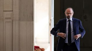 Le Premier ministre, Édouard Philippe, le 14 avril 2020 à Paris. (STEPHANE LEMOUTON / POOL)