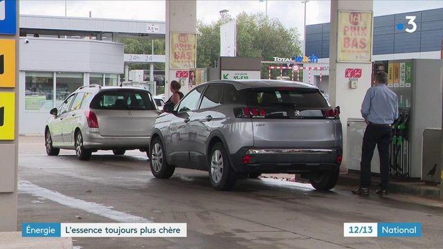 Énergie : le prix de l'essence flambe