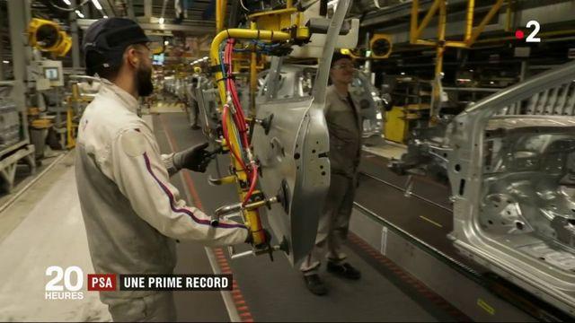 PSA : une prime record pour les salariés