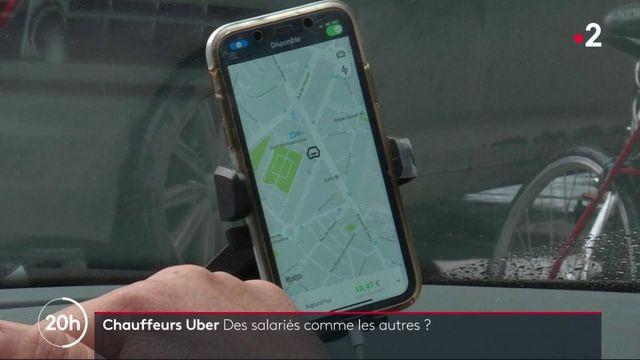 Uber : une décision de justice pourrait bouleverser le statut des chauffeurs