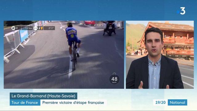 Tour de France : une première victoire française qui galvanise les spectateurs