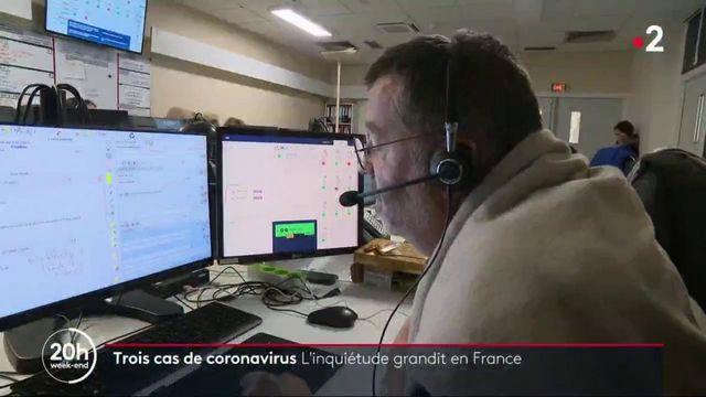 Coronavirus : l'inquiétude grandit en France