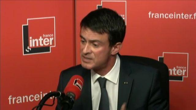 VIDEO. Valls exhorte la CGT de ne plus organiser de manifestations à Paris