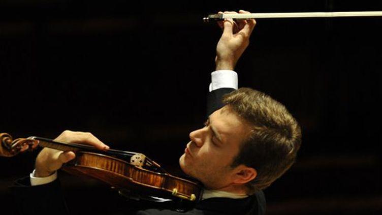 Renaud Capuçon, violoniste star, sera sur scène aux Victoires de la Musique Classique 2013.  (Jean-François Leclercq)