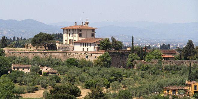 Le Forte Belvedere, forteresse florentine dans laquelle le couple Kanye West Kim Kardashian devrait faire la fête samedi 24 mai 2014.  (AFP)