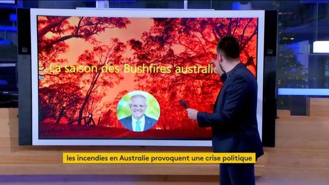 Les incendies en Australie provoquent une crise politique
