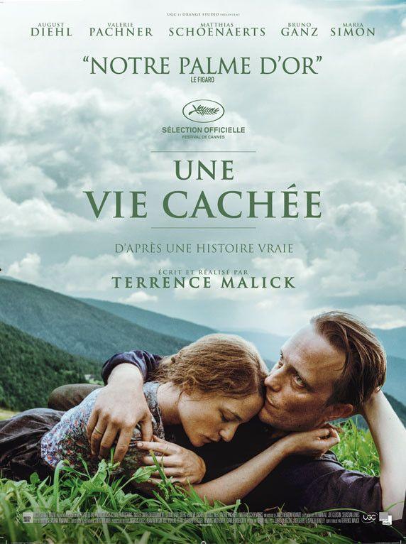 """L'affiche de """"Une vie cachée"""" de Terrence Malick. (Orange Studio Cinéma / UGC Distribution)"""