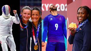La France a remporté 10 médailles d'or à Tokyo. (MILLEREAU PHILIPPE / HERVIO JEAN-MARIE / KMSP /FRANCK FIFE / AFP)