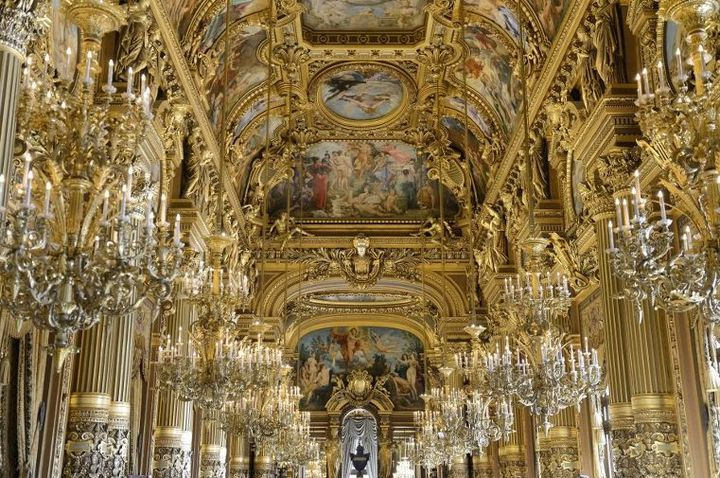 Le Grand Foyer de l'Opéra Garnier  (RIEGER BERTRAND / HEMIS.FR)