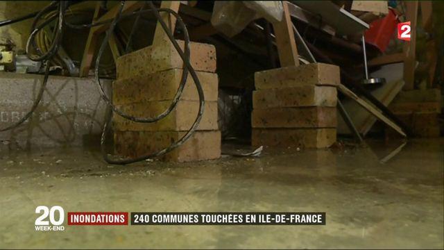 Île-de-France : toute la région touchée par la crue